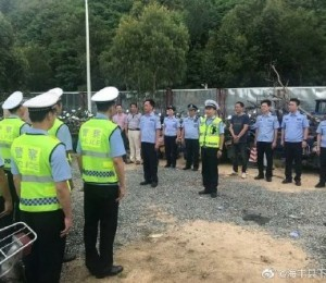 汕尾交警集中销毁253台无牌无证报废车辆